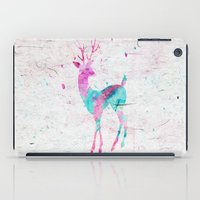 Pink And Turquoise Cute … iPad Case
