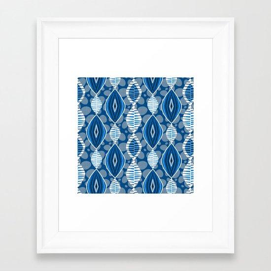 Boubou ! Framed Art Print