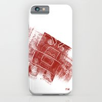 iPhone & iPod Case featuring Red Robot! by David Finley
