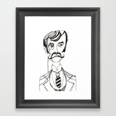 Lord Edgar Framed Art Print