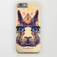 iPhone & iPod Case featuring Rabbit Heart by Galvanise The Dog
