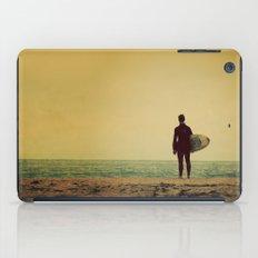Waiting In Venice - California Surf Print iPad Case
