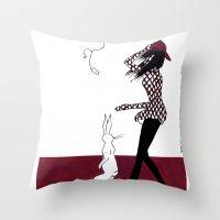 MODERN POSTER Throw Pillow