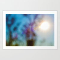 Sun's Blur Art Print
