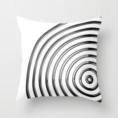 Mercurial Rings Throw Pillow