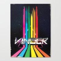 Vinger Canvas Print