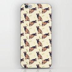 Border Terrier Dog Oil Paint, pattern iPhone & iPod Skin