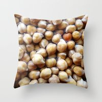 I LOVE Chickpeas!!! Throw Pillow