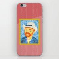 Selfie Van Gogh iPhone & iPod Skin