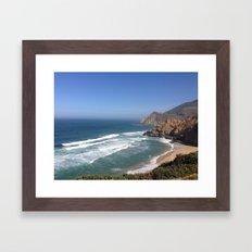 Half Moon Bay  Framed Art Print