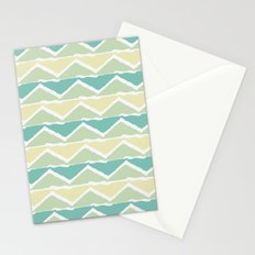 ocean triangles Stationery Cards