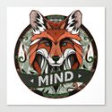 Mind Canvas Print