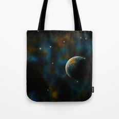 Deus Nebula Tote Bag