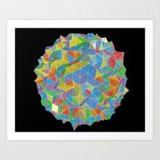 IsoPixel II Art Print