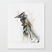 Drift Contemporary Dance… Canvas Print