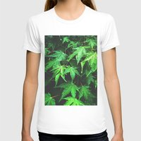 green love  Womens Fitted Tee White SMALL