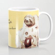 Sloth Astronaut Mug