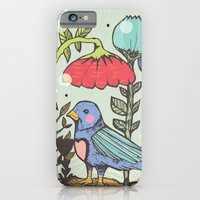 iPhone & iPod Case featuring Spring by Jo Cheung Illustration