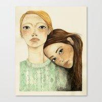 Valentinas Canvas Print