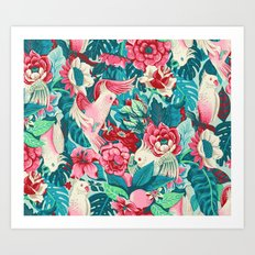 Florida Tapestry - daytime version Art Print