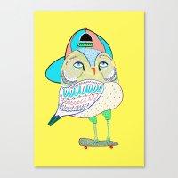 Rad Owl Canvas Print