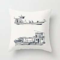 On Paper: Pity Pity II Y… Throw Pillow