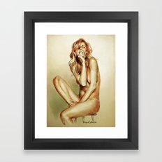 Now Framed Art Print