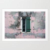 New Orleans Windows and Doors VIII Art Print