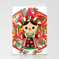 Maria 5 (Mexican Doll) Stationery Cards
