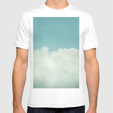 Come With Me, Wendy (blue) White Mens Fitted Tee SMALL