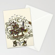 My Father was a Sailor, and My Mother, a Quilter Stationery Cards