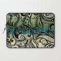 Swirl and Curl Laptop Sleeve