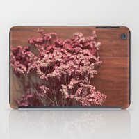 Vintage Purple Flowers iPad Case