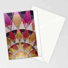 Triangle Explosion Stationery Cards