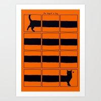 The Longcat Is Long Art Print