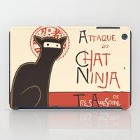 A French Ninja Cat (Le C… iPad Case