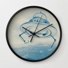 UFO III Wall Clock
