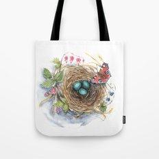 Robin's Nest Tote Bag