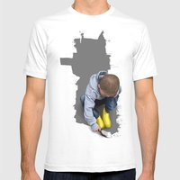 To Live With No Thought … Mens Fitted Tee White SMALL