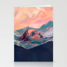 Become the Sea Stationery Cards