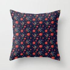 Sparrow songs Throw Pillow