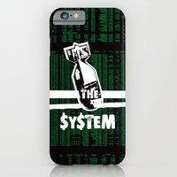 iPhone & iPod Case featuring Bomb the System by Damien Koh