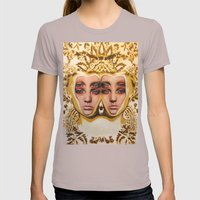 The Royals By Alex Garan… Womens Fitted Tee Cinder SMALL