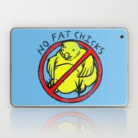 No Fat Chicks Laptop & iPad Skin