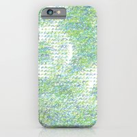 Peacock Feathers Doodle iPhone 6 Slim Case