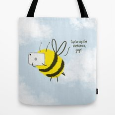 Festival Bees  Tote Bag