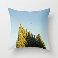 Peaks Throw Pillow
