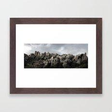 El Torcal Framed Art Print
