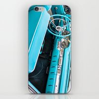 Timeless Turquoise iPhone & iPod Skin