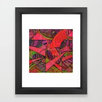 Tropical Farm 2 Framed Art Print